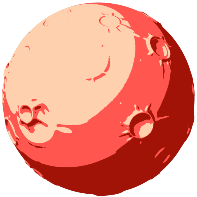 Game Asset: Planet Toon