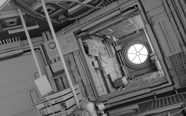 Space Station Project Ambient Occlusion2