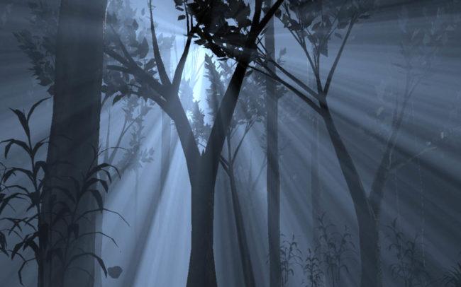 Volumetric Light: Forest