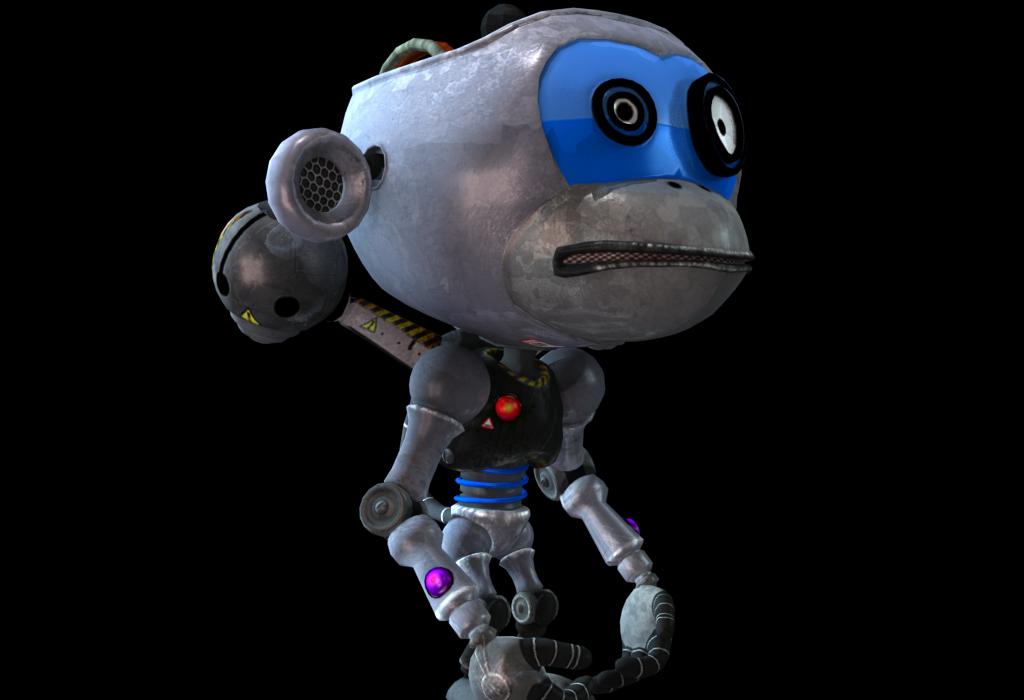 Monkey Robot Idle